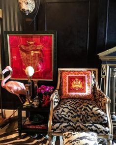 Instagram's Favorite Pretentious Maximalist Shares the Joys of Living Well - 1stDibs Introspective French Daybed, French Sofa, Living In Brazil, Joy Of Living, Living Room, Space Painting, Unusual Homes, Outdoor Sculpture, Sons