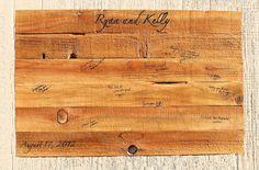 Wedding Guest Book Alternative, Custom Wedding Guestbook on Wood Slat Canvas, Rustic Wedding Guest Book, $60.00