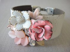 Faux Flower Corsage--an alternative to the traditional wedding corsage.