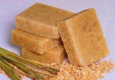 Homemade pine tar soap recipe--treats psoriasis and smells good for men, too