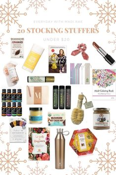 20 Stocking Stuffers