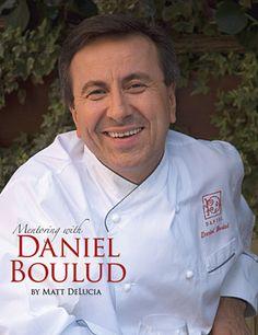 """Mastering with Daniel Boulud"" Cookbook."