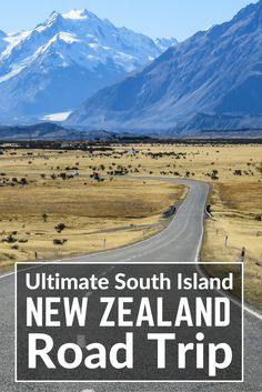 The New Zealand itinerary and South Island Road trip with all the best places to visit in New Zealand: Fox Glacier, Franz Josef Glacier, Milford Sound, Te Anau, Mt Cook National Park, Tasman Glacier, Aoraki, Tranzalpine kiwirail, Arthurs Pass, Castle Hill, Queenstown, Mirror Lakes, Christchurch. The New Zealand Travel blog.
