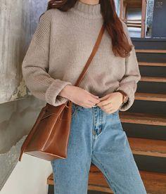 brown bag, fashionable, and kfashion image