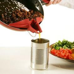 I need one of these, grease pour spout: Silpoura 3 Pack now featured on Fab.