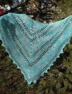 "Very pretty free crochet pattern for ILona's Corner"". Lace weight - Knit Picks Shadow used on model."