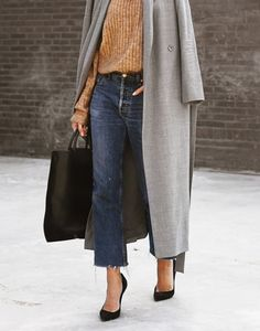 How to make denim look oh-so sophisticated.