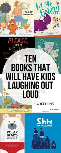 Pictures Books That Will Have Kids Laughing Out Loud. It's nice to have a laugh and to see your kids laugh. Life can sometimes be so serious. Intentional Homeschooling has provided a helpful summary of books your kids might enjoy. Preschool Books, Book Activities, Sequencing Activities, Preschool Bulletin, Craft Books, Kids Reading, Teaching Reading, Reading Lists, Reading Time