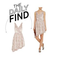 """""""Daily Find: Elizabeth and James Mini Dress"""" by polyvore-editorial ❤ liked on Polyvore featuring Elizabeth and James and DailyFind"""