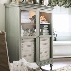 Paula Deen Home The Bag Lady's Cabinet with 2 Shelves and 8 Drawers by Paula Deen