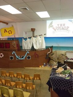 Alpha and Omega - Voyage VBS ship,