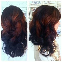 Splash lights done on my hair by a redken artist christina ♥
