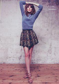 Alexia Chung. (Série mode Elle France - 17 août 2012) #FOLLOWME #MAJE