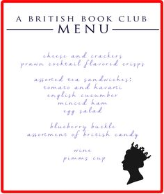 A British Book Club // by The Yuppie Files