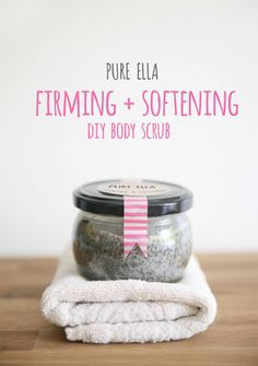 Beauty Recipes DIY Body Scrub Firm And Soften