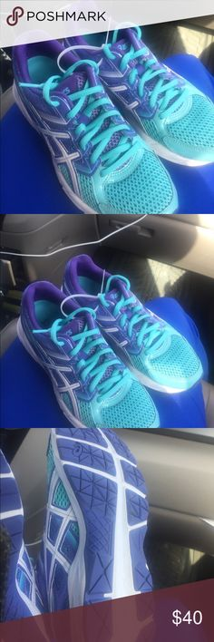 ASICS women's sneakers sz 6.5 worn once Ready to ship.  Perfect condition. Ready to ship Asics Shoes Sneakers