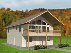 Garage Apartment Design, 012G-0100