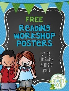 FREE reading workshop posters - great to have for establishing routines at the beginning of the school year!