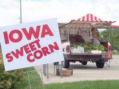 Find a stand in any town in July or August...fresh sweet corn!