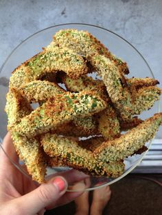 Avocado fries - Recipe calls for bread crumbs, but I wonder if almond meal or something could be used instead.