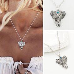 Elephant Turquoise Pendant Collar. Turquoise PendantTurquoise  StoneTurquoise JewelryElephant NecklaceElephant ... a284787b9bbf