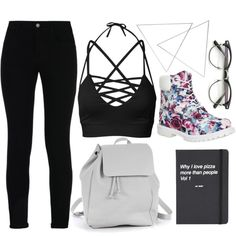 🍕 by do-dorina on Polyvore featuring STELLA McCARTNEY, Timberland, Zara TRF, Topshop and Menu