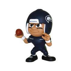 Seattle Seahawks NFL Lil Teammates Vinyl Quarterback Sports Figure (2 3-4 Tall) (Series 3)