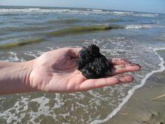 Tar Ball Oil Spill, Science Nature