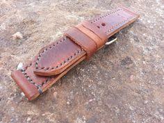Shop - Watch Straps - Shane David Designs Handmade Leather Watch Straps - Ammo Straps - Handmade Ammo Watch Straps - Vintage Watch Straps