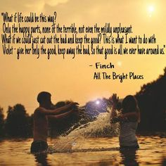 Big thanks to letstalkbooks46 on Instagram for creating this lovely quote graphic #AlltheBrightPlaces