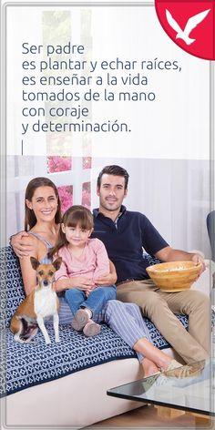El mejor legado de un padre a sus hijos es un poco de su tiempo cada día. #FelízDíaDelPadre ☝ Movie Posters, Movies, Frases, Holding Hands, Happy Fathers Day, Sons, Get Well Soon, Films, Film Poster