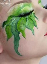 This shows how fantasy make-up is not always a prosthesis and sometimes . - This shows how fantasy make-up is not always a prosthesis and sometimes … – Natural Makeup Simp - Fx Makeup, Beauty Makeup, Pixie Makeup, Witch Makeup, Prom Makeup, Fantasy Make Up, Theatrical Makeup, Make Up Art, Too Faced