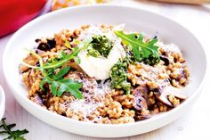 Use pearl barley for a tasty new twist to your classic risotto.