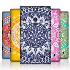 Head Case Designs Mandala Hard Back Case Cover for Nokia Lumia 520 | eBay