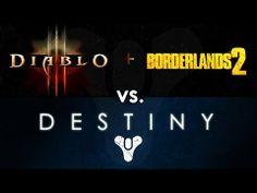"[81] Diablo 3, Borderlands 2 vs. Destiny: Why Destiny Will Succeed as a ""Dungeon Crawler"""