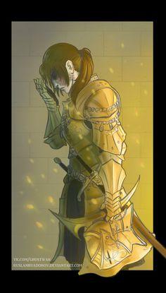 Dark Souls - Darkmoon Knightess by RuslanHuadonov