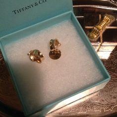 "Selling this ""AUTHENTIC  TIFFANY & CO  18 K EARRINGS"" in my Poshmark closet! My username is: tigersaurus007. #shopmycloset #poshmark #fashion #shopping #style #forsale #Tiffany & Co. #Jewelry"