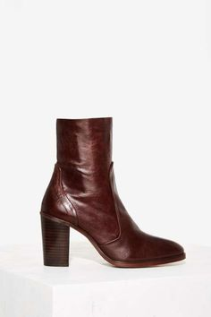 Crosswalk Pico Ankle Boot - Brown - Boots + Booties