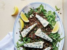 French Lentil Salad with Blue Cheese