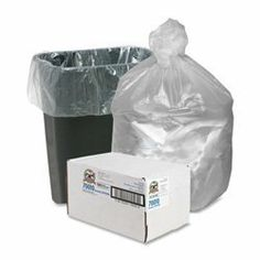 "Sparco High Density Clear Trash Bags, 10 Gallon, Box of 1,000 (SPR70010) Category: Commercial Can Liners by Sparco. Save 55 Off!. $16.01. Item #: SPR70010. Made with puncture-resistant high density resin, SPARCO Economy High Density Bags are ideal for office waste. Perforated, small count rolls keep bags at your fingertips and are easily stored. Translucent color makes bags ideal for recycling and pilferage control. Customers also search for: 6 Mic; 24""x24""; 7-10 Gallon; 1000/BX..."
