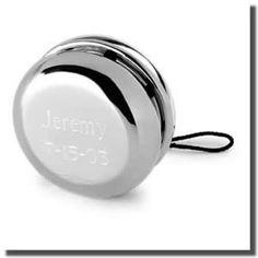 fcc530f0e02b Personalized Silver Plated Yo Yo Childrens Gifts
