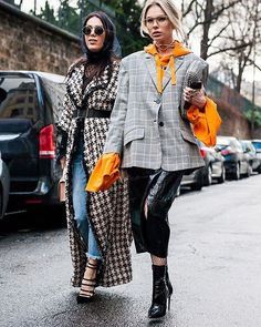 It maximalism is your tune, the Chic Checks edit is the jam ✔️ Photo by @gettyimages #outfitinspiration #stylediaries #ootdshare