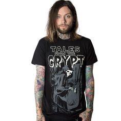 b0ca717a3de60 Tales From The Crypt Grim Reaper Tshirt. Kreepsville 666