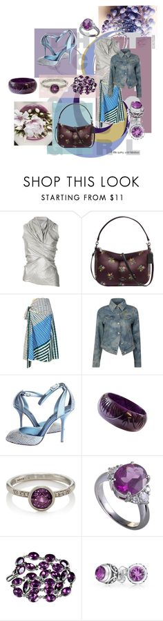 """""""Untitled #614"""" by erggoe ❤ liked on Polyvore featuring Rick Owens Lilies, Coach, Marni, Vivienne Westwood Anglomania, Dolce&Gabbana, Malcolm Betts and Bling Jewelry"""