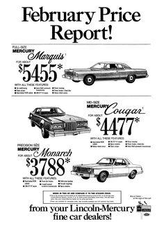 Lincoln Mercury - February 1977