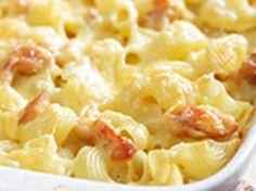 gratin de macaroni au st marcelin