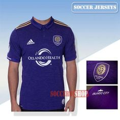 Top Quality Orlando City New Home Soccer Jerseys 2017 2018 Replica Personalised Printing | Soccero-Shop