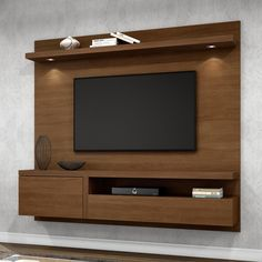 Tv Unit Decor, Tv Wall Decor, Tv Cabinet Design, Tv Unit Design, Lcd Wall Design, Tv Unit Furniture, Modern Tv Wall Units, Rack Tv, Home Decor Shelves