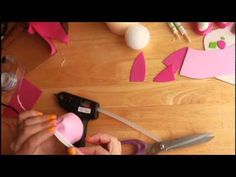 DIY STRAWBERRY SHORTCAKE CENTERPIECE CAKE TOPER