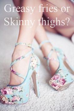 Skinny Thighs